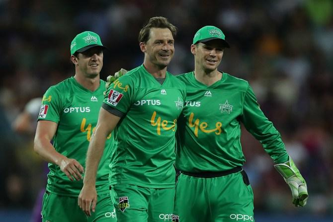 Melbourne Stars beat Hobart Hurricanes by four runs Big Bash League BBL 16th Match cricket