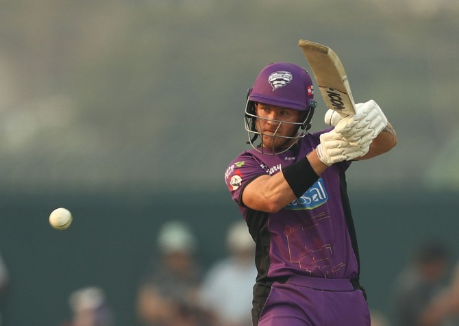 D'Arcy Short 103 not out Hobart Hurricanes Perth Scorchers 24th Match cricket