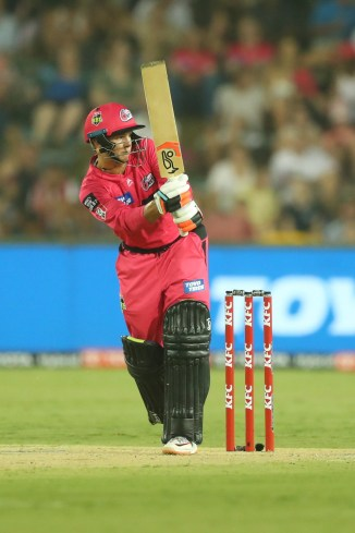 Josh Philippe 52 not out Sydney Sixers Brisbane Heat Big Bash League BBL 49th Match cricket