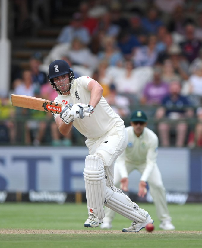 Dom Sibley 85 not out South Africa England 2nd Test Day 3 Cape Town cricket