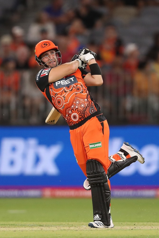 Liam Livingstone 78 Perth Scorchers Sydney Thunder Big Bash League BBL 46th Match cricket