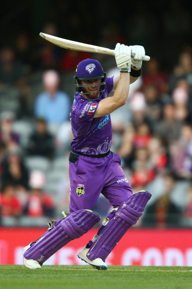Macalister Wright 70 not out Hobart Hurricanes Melbourne Renegades Big Bash League BBL 47th Match cricket