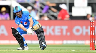Jonathan Wells 55 not out Adelaide Strikers Melbourne Stars Big Bash League BBL 48th Match cricket