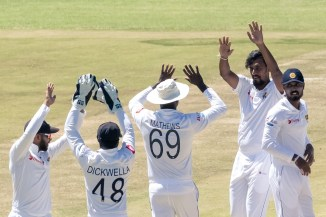 Suranga Lakmal four wickets Zimbabwe Sri Lanka 1st Test Day 5 Harare cricket