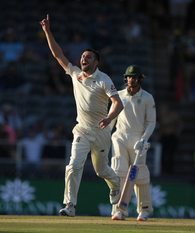 Mark Wood 35 runs and three wickets South Africa England 4th Test Day 2 Johannesburg cricket