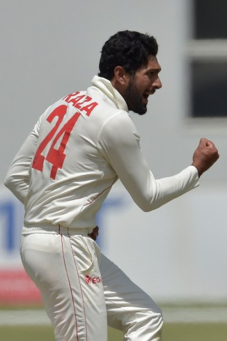 Sikandar Raza seven wickets Zimbabwe Sri Lanka 2nd Test Day 3 Harare cricket