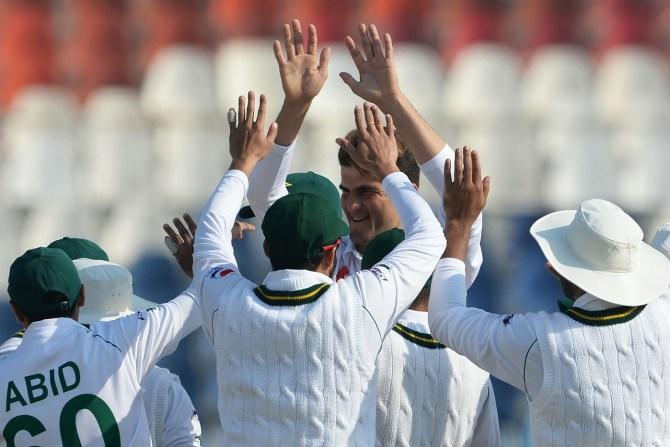 Pakistan beat Bangladesh by an innings and 44 runs 1st Test Day 4 Rawalpindi cricket