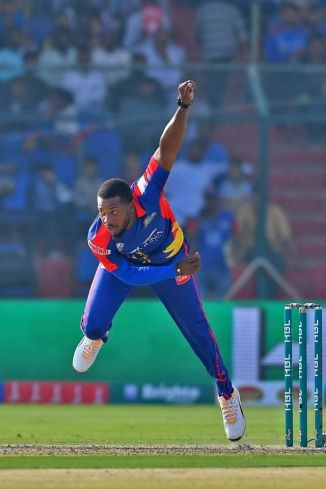 Chris Jordan believes Arshad Iqbal is a good young bowler Pakistan Super League PSL Karachi Kings cricket