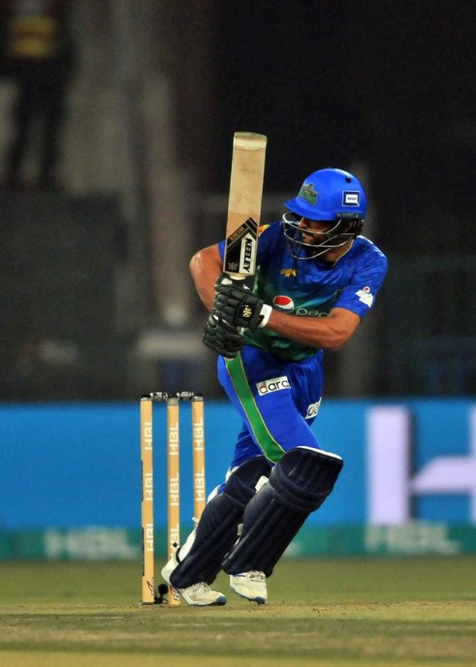 Shan Masood hits back at critics who think he shouldn't be captaining the Multan Sultans Pakistan Super League PSL cricket