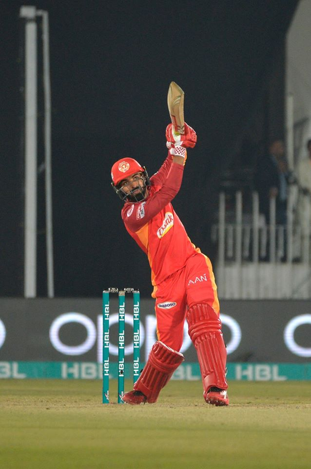 Ramiz Raja believes Shadab Khan could open the batting for Pakistan Islamabad United Pakistan Super League PSL cricket