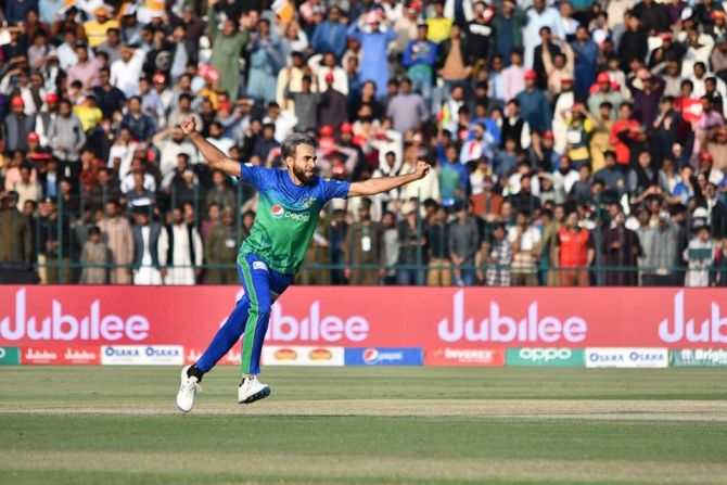 Imran Tahir said he has never felt unsafe in Pakistan Multan Sultans Pakistan Super League PSL cricket
