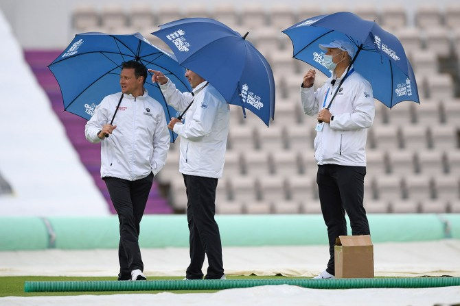 Rain ruins opening day of 1st Test between England and West Indies