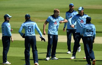David Willey five wickets England Ireland 1st ODI Southampton cricket