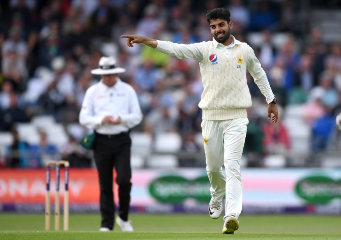 Shan Masood hints that Shadab Khan will be Pakistan's back-up spinner during the Test series against England cricket