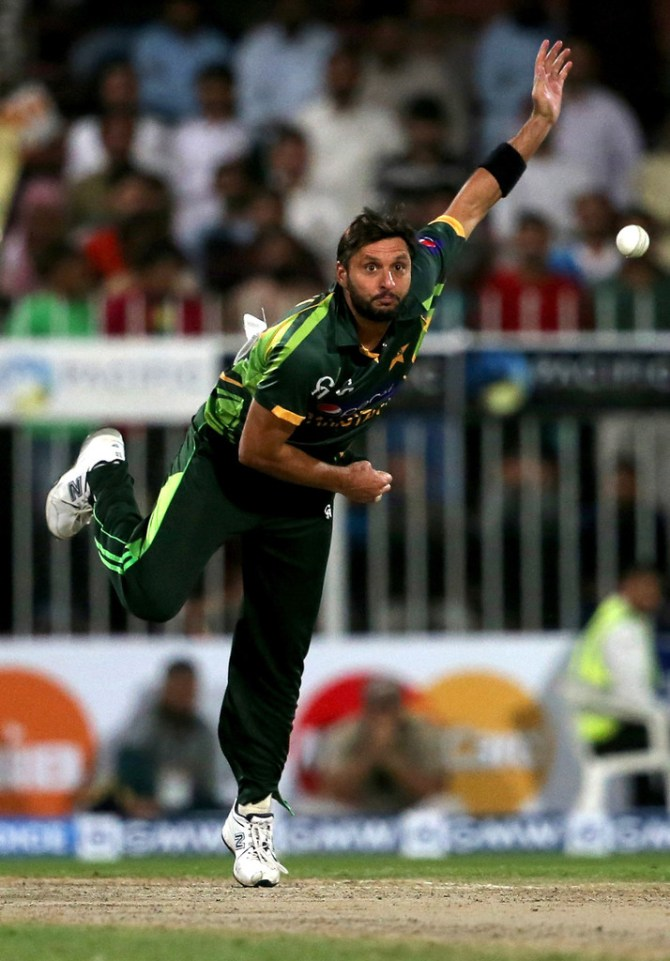 Shahid Afridi picked Brian Lara and AB de Villiers as the best batsmen he has bowled to Pakistan West Indies South Africa cricket
