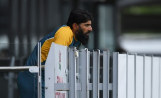 Moin Khan said Misbah-ul-Haq and Waqar Younis could lose their jobs