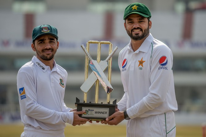 Bangladesh are eager to complete the remaining matches of their tour of Pakistan cricket