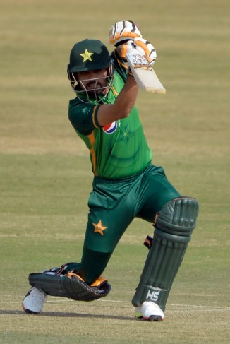 Pakistan captain Babar Azam said he did not have confidence until he played a good cover drive