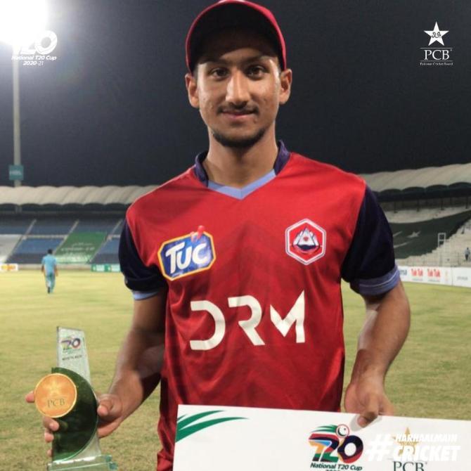 Pakistan batsman Rohail Nazir said he belongs in the top order