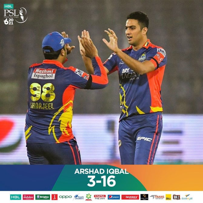 Dan Christian said Arshad Iqbal was the star of the show in the Karachi Kings' win over the Quetta Gladiators