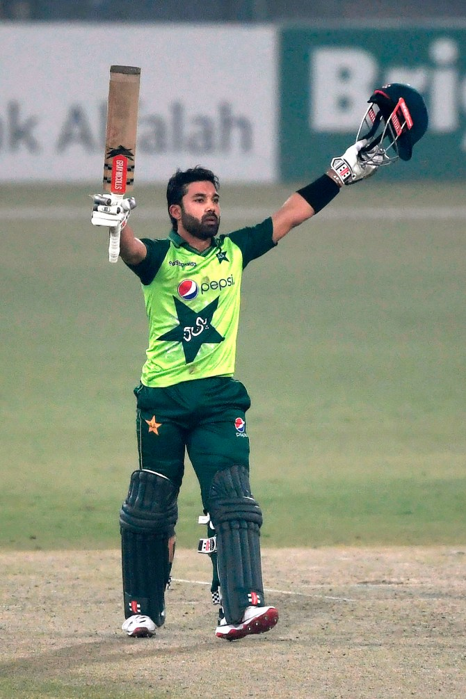 Mohammad Rizwan said it was an honour for him to become the first Pakistan wicketkeeper-batsman to score a century in each format