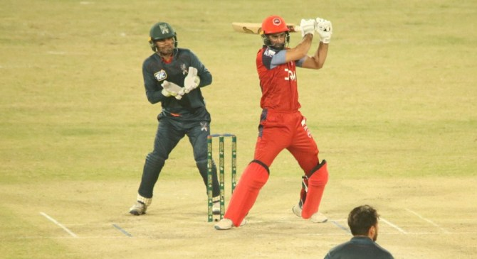 Hammad Azam praised Nauman Ali for his great effort during his special debut