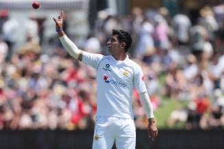 Pakistan seamer Naseem Shah said it is almost like war when he bowls to batsmen and he doesn't like to joke around