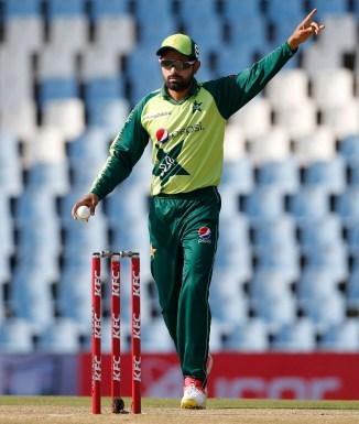 Shadab Khan said Babar Azam takes his advice when picking the Pakistan playing XI