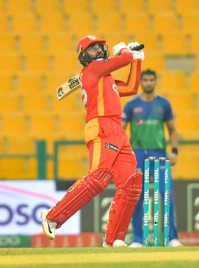 Pakistan batsman Asif Ali said he probably will perform 2 times out of 10