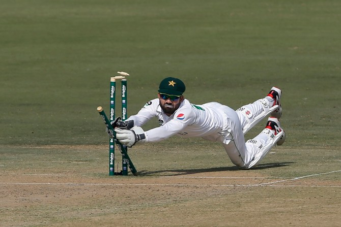 Pakistan wicketkeeper-batsman Mohammad Rizwan said he wasn't a keeper at the beginning