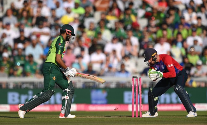 Steve Harmison said there is no depth in the Pakistan batting line-up