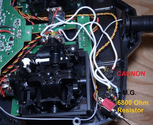 Ghia Wiring Diagram Dx5e Cannon And Mg Buttons Battle Armor Rc