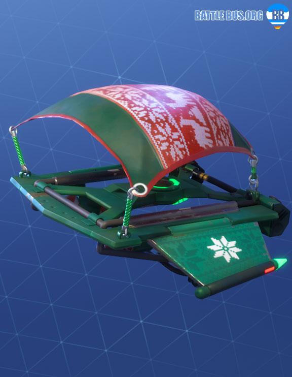 Cozy Coaster Glider Fortnite Christmas Skins Season 7