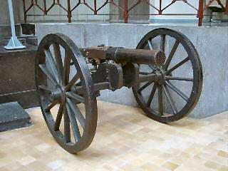 The Mitrailleuse (Musée Royal de l'Armée-Brussels)