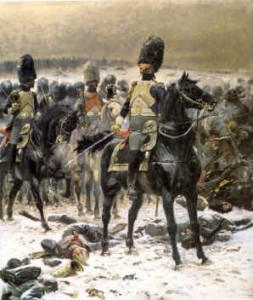 Guard Grenadier at Eylau', Eduard Detaille.   Musee Conde, France.