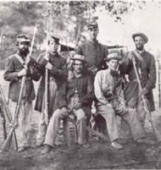 Confederate Infantry (Robert Hunt Library)