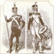 French light infantry and line drummer 1807