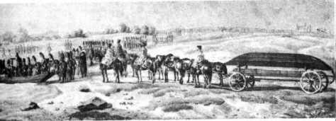 French Grenadiers crossing the River Niemen at Pilony on June 30th 1812. (Faber du Four) Musée de l'Armée- Paris.