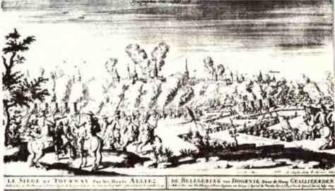 The Siege of Tournai 1709