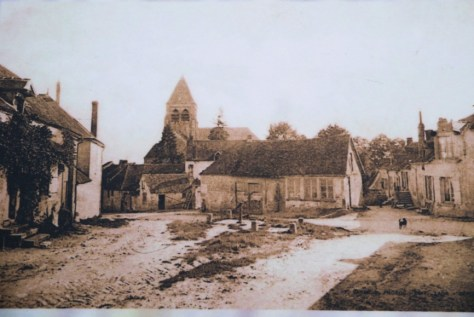 The old village of Craonne
