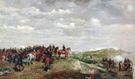 Napoleon III at the Battle of Solferino by Jean-Louis-Ernest Meissonier. Oil on canvas, 1863