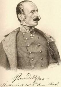 Feldzeugmeister Ludwig August von Benedek.
