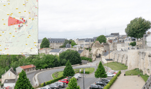Click here for a fully interactive panoramic tour of the battlefield as seen from the ramparts of the old town.