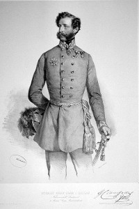 General Clam Gallas Commander of the Austrian I Corps.