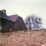 A shot of perhaps one of the only two remaining properties in Wagnelée dating from the time of the battle.