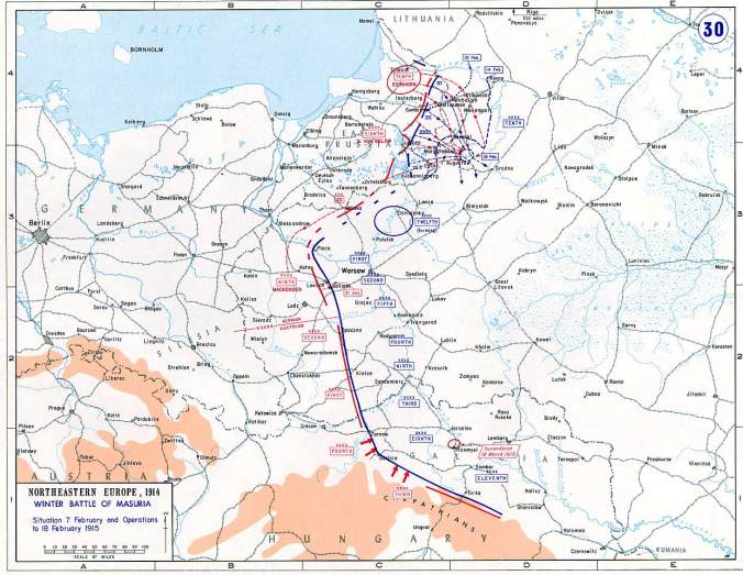 Second Battle of Masurian Lakes