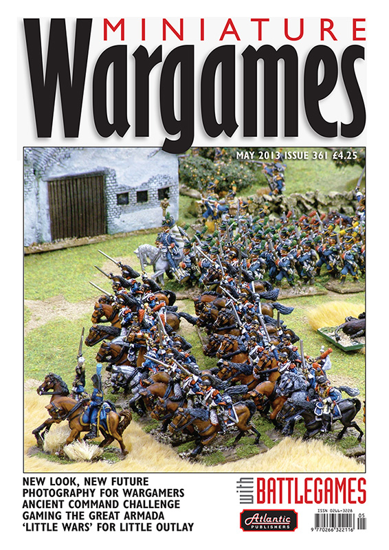 Miniature Wargames with Battlegames issue 361 front cover 800 pixels tall