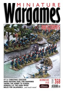 Miniature Wargames with Battlegames issue 368 front cover