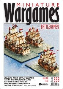 Miniature Wargames with battlegames issue 399 front cover