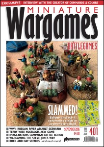 Miniature Wargames with Battlegames issue 401 cover